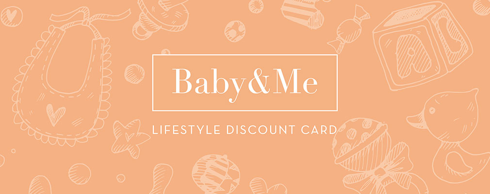 Baby and Me Card logo