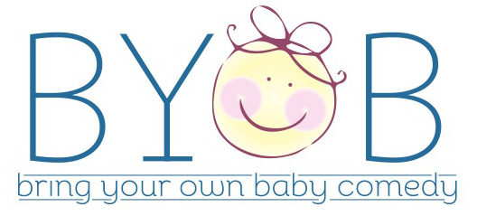 Bring your own Baby Comedy logo
