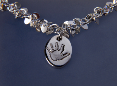 Charm on a Multi Link Bracelet image